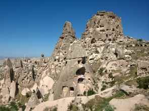 Uchisar castle and Fairy chimneys